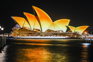 Diwali, the Hindu festival of light, lights up the Opera House