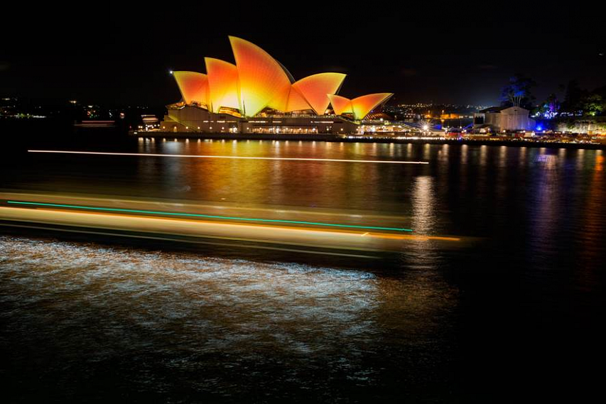 Opera House lights up for Diwali