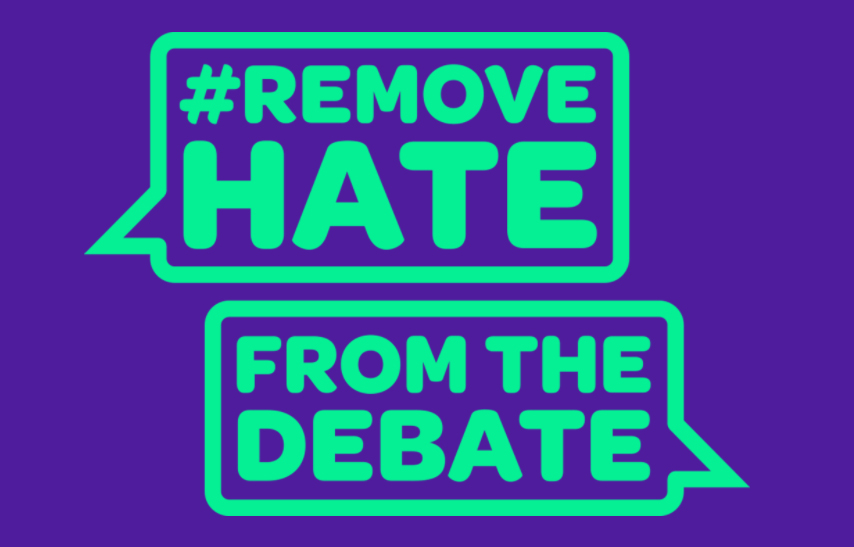A new campaign helps remove hate from the debate
